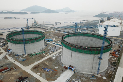 downstream –LNG storage Tank Projects